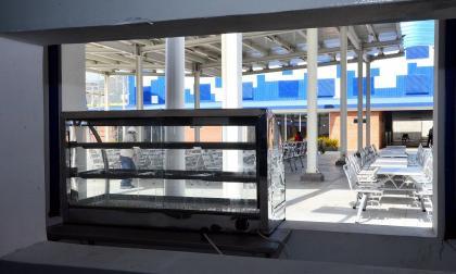 Mercado de Santa Marta ya tiene moderna plaza de comida popular