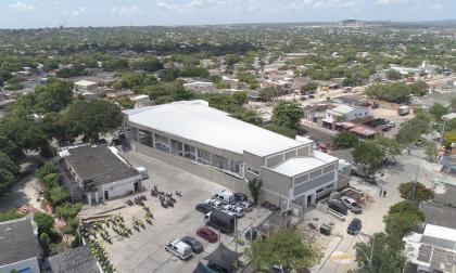 Distrito entrega un colegio en Las Palmas y tres nodos del Sena