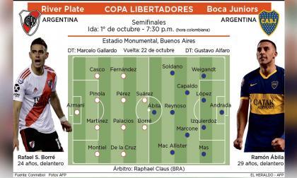 River-Boca: hoy, primer round de la semifinal