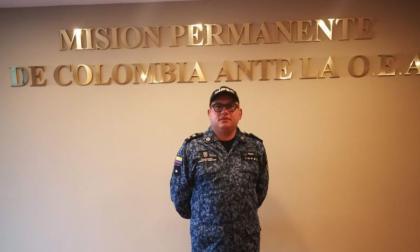 El presidente del sindicato del Inpec Unión de Trabajadores Penitenciarios, UTP, Cristian López.