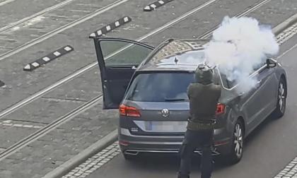 """Ataque """"antisemita"""" deja dos muertos en   Halle, Alemania"""