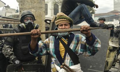 Moreno pide un diálogo cara a cara con indígenas