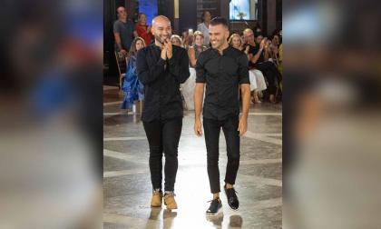 Los diseñadores Andrés Pajón y Felipe Cartagena.