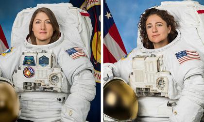 """""""Ustedes son muy valientes y brillantes"""": Trump a mujeres que realizaron caminata espacial"""