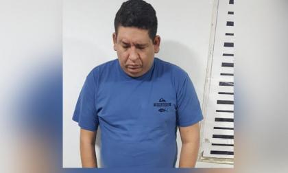 Diego Armando Niebles Bolívar, alias Dieguito o el 'Terror de las TXL', capturado.