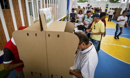 Desarrollo de las elecciones.