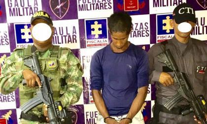 Gaula Militar Guajira capturó a alias 'Chivo', peligroso secuestrador de la región