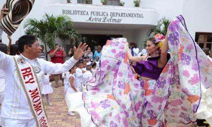 Isabella y Alcides llevarán la alegría del Carnaval de Barranquilla a Cartagena