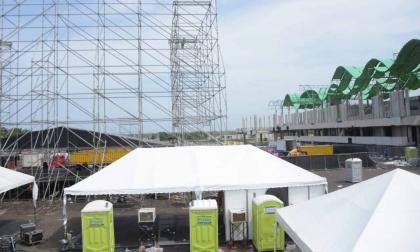 Intento de robo a taquilla de concierto en Puerta de Oro deja dos heridos