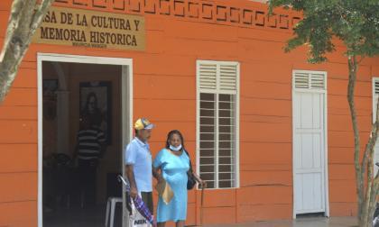 Esta es la sede de la Casa de la Cultura y Memoria Histórica Marina Wagner, de Colosó.