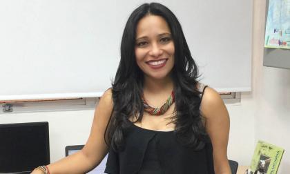La gerente regional de Movistar, Ximena Mora.