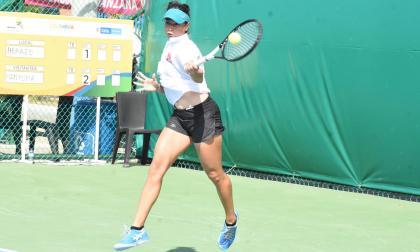 La tenista barranquillera 'Mafe' Herazo.