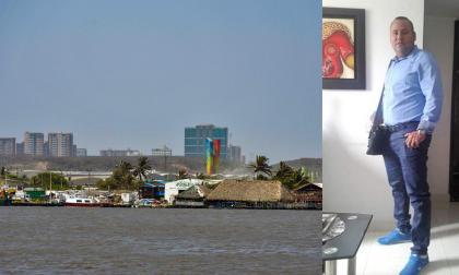 En esta zona del barrio Las Flores fue visto por última vez con vida Anderson Quintero Galván.