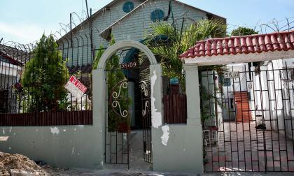 Fachada de la casa en El Prado que realizó intervenciones sin autorización.