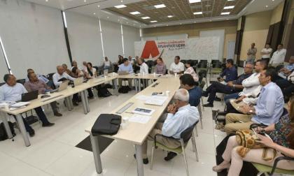 Sesión conjunta del Consejo Superior y el Consejo Académico de la Uniatlántico.