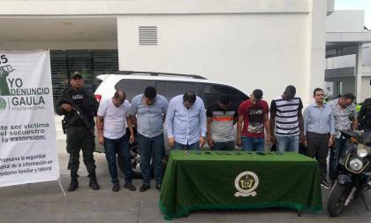 Legalizan capturas de detenidos por secuestro de 'Fito' Acosta
