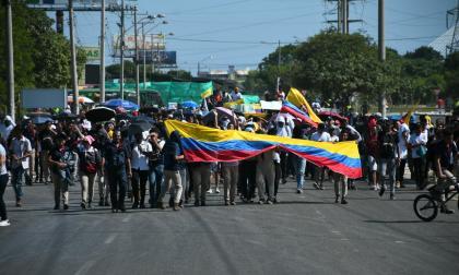 Marchas de este miércoles en Barranquilla partirán desde dos puntos