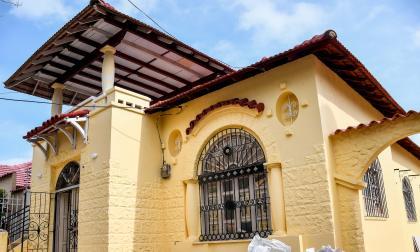 Fachada de una de las viviendas que ha sufrido intervenciones en la zona patrimonial. Está ubicada en la carrera 60 con calle 68.