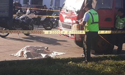 El conductor murió en el lugar del accidente.