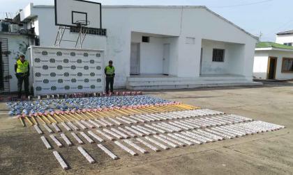 Millonario decomiso de pólvora dentro de una casa en Planeta Rica, Córdoba
