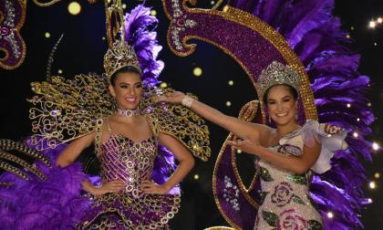 El vestido de coronación de reina del Carnaval 2018, Carolina Segebre Abudinen, también se exhibirá.