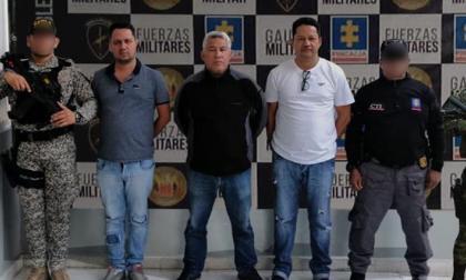 Capturan tres cabecillas de red de narcotráfico a servicio del Clan del Golfo