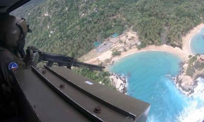 En video   Por cielo y tierra garantizan la seguridad en la Troncal del Caribe
