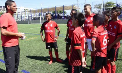 Heriberto Velandia y su faceta como entrenador