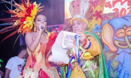 """""""Vamos todos a gozar"""": la orden de María Alejandra en el Carnaval vallenato"""
