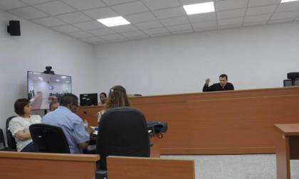 Se adelanta audiencia preparatoria del juicio por atentado estación San José