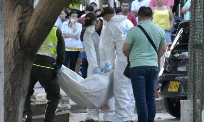Hombre asesinado en las Delicias estaba en un taller, pero de armas