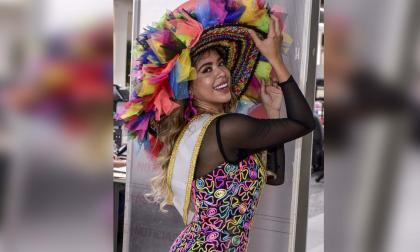 Amanda Parra contagia de alegría a EL HERALDO