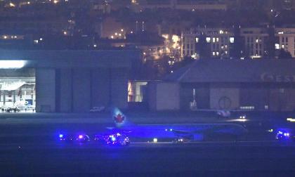 Avión averiado de Air Canada aterriza con éxito en Madrid