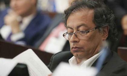 Gustavo Petro, senador de la Colombia Humana.