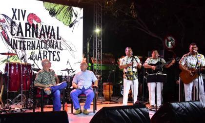 Aspecto del evento en homenaje al jilguero de la Sierra Nevada de Santa Marta, Guillermo Buitrago.