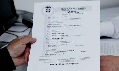 Conozca cómo legalizar documentos de educación superior expedidos en Colombia