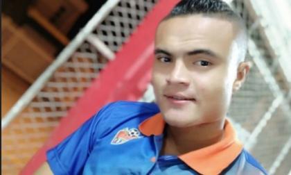 Johandriz Medina, asesinado durante atraco en Valledupar.