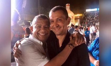 El condenado Emilio Tapia en la imagen que compartió el hombre de radio Álvaro Alcides Álvarez en su cuenta de Instagram.
