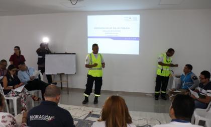 Aeropuerto de Cartagena aplica medidas de prevención por coronavirus