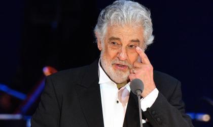 """El tenor español Plácido Domingo se disculpó diciendo que asumía """"la responsabilidad de sus acciones""""."""