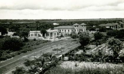 Panorámica del bulevar sur, ubicado en el barrio El Prado de Barranquilla.