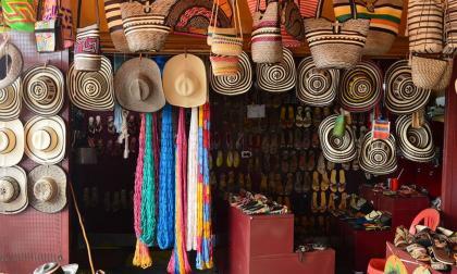 Las artesanías son uno de los grandes motores productivos de los pobladores de este municipio.