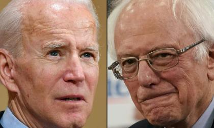 Joe Biden y Bernie Sanders