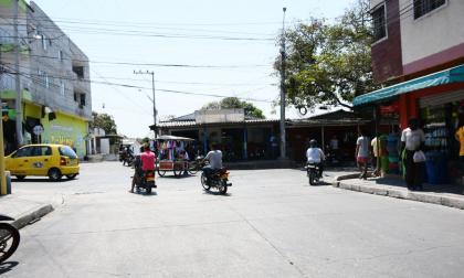 Carrera 22 A con calle 75 A del barrio Nueva Colombia, donde ocurrió el homicidio.