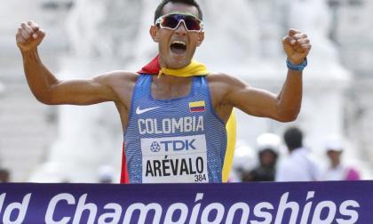 Eider Arévalo, atleta clasificado a Tokio-2020.