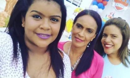 Las hermanas Loliluz Madero Guerrero y Ellyn Madero Guerrero y su madre Edenis Guerrero, asesinadas.