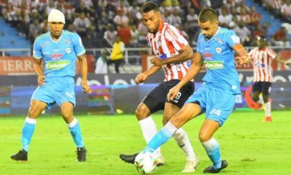Jagures cayó este semestre 3-2 ante Junior, en Barranquilla, por la Liga BetPlay.