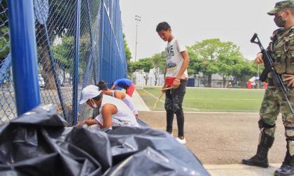 Como sanción pedagógica, los infractores del aislamiento preventivo obligatorio, deberán limpiar calles y parques en Valledupar.