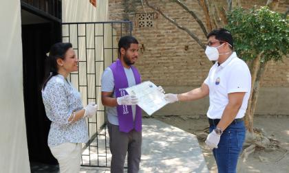 Entrega de diplomas para estudiantes de la Unimagdalena.