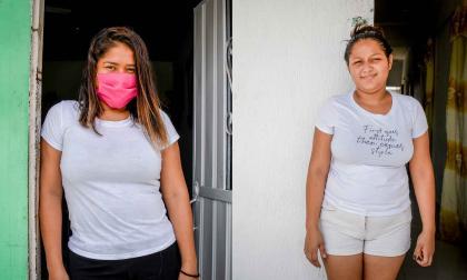 Sandra Moreno y Daniela Ruiz.